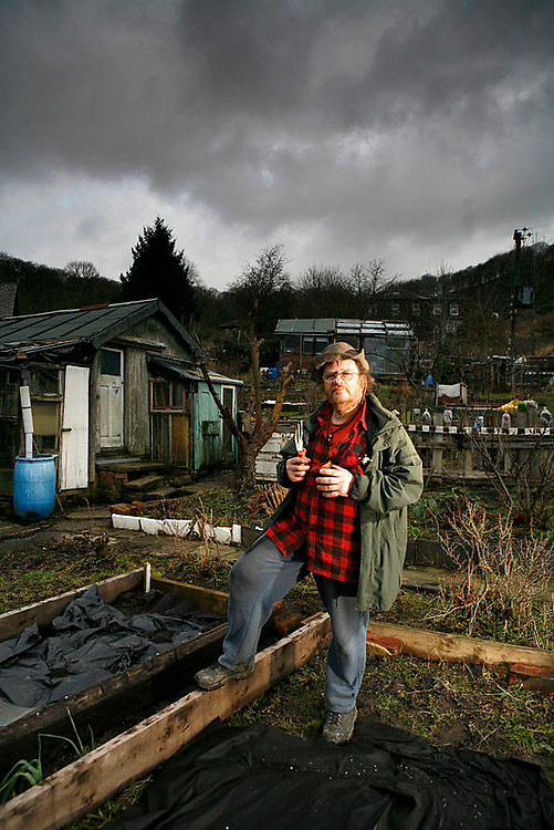 16/1/09 Todmorden , West YorkshireIncredible Edible Todmorden Feature by Jane Wheatley Pic : Steve Morgan