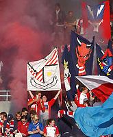 Fotball - tippeligaen Rosenborg - Lyn 0-1<br /> Illustrasjon, supportere <br /> <br /> Foto: Carl-Erik Eriksson, Digitalsport