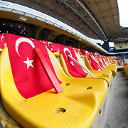 Turkey's and Czech Republic's during their UEFA Euro 2016 qualification Group A soccer match Turkey betwen Czech Republic at Sukru Saracoglu stadium in Istanbul October 10, 2014. Photo by Aykut AKICI/TURKPIX