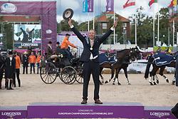 Chardon IJsbrand, NED<br /> FEI European Driving Championships - Goteborg 2017 <br /> © Hippo Foto - Dirk Caremans