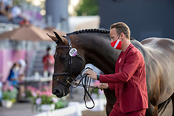 Schou Andreas, DEN, Darc De Lux, 328<br /> Olympic Games Tokyo 2021<br /> © Hippo Foto - Dirk Caremans<br /> 31/07/2021