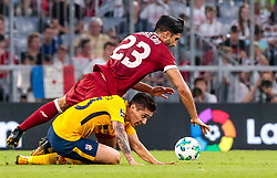 02.08.2017, Allianz Arena, Muenchen, GER, Audi Cup, FC Liverpool vs Atletico Madrid, Finale, im Bild Emre Can (FC Liverpool), Matias Kranevitter (Atletico Madrid) // during the Audi Cup Final Match between FC Liverpool and Atletico Madrid at the Allianz Arena, Munich, Germany on 2017/08/02. EXPA Pictures © 2017, PhotoCredit: EXPA/ JFK