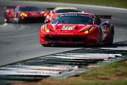 September 30-October 1, 2011: Petit Le Mans at Road Atlanta. 58 Ralph Firman, Francois Jakubowski, David Halliday, Ferrari F458, Luxury Racing