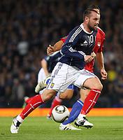 Football - UEFA Euro 2012 Qualifier - Scotland v Liechtenstein<br /> <br /> Scotland's Kris Boyd during the Scotland v Liechtenstein UEFA Euro 2012 Qualifier, Hampden Park
