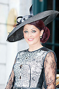 Mandy Maher Catwalk Models  judge at the Hotel Meyrick Most Stylish Lady event on ladies day of The Galway Races. Photo:Andrew Downes