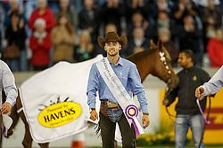 Masi De Vargas Giovanni, (ITA)<br /> Reining individual<br /> European Championships - Aachen 2015<br /> © Hippo Foto - Dirk Caremans<br /> 16/08/15