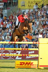 Estermann Paul, (SUI), Castlefield Eclipse<br /> Individual competition round 3 and Final Team<br /> FEI European Championships - Aachen 2015<br /> © Hippo Foto - Dirk Caremans<br /> 21/08/15