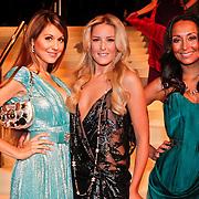 NLD/Amsterdam/20101209 - VIP avond Miljonairfair 2010, Tamara Elbaz, Josh Veldhuizen en Maria