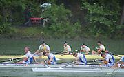 Lucerne, SWITZERLAND, GBR M4- Bow James CRACKNELL 2. Steve REDGRAVE, 3. Tim FOSTER and stroke Matt PINSENT. Background AUS1 Bow, James STEWART, 2. Ben DODWELL, 3. Geoff STEWARTand stroke Bo HANSON (s)   2000 FISA World Cup, Rotsee Rowing Course, June 2000.  [Mandatory Credit, Peter Spurrier/Intersport-images] 2000 FISA World Cup, Lucerne, SWITZERLAND
