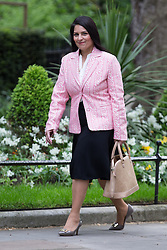 © Licensed to London News Pictures . 11/05/2015 . London , UK . PRITI PATEL arrives at 10 Downing Street this morning (11th May 2015) . Photo credit : Joel Goodman/LNP