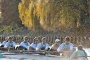 "Putney, GREAT BRITAIN, Dagger racing along Dukes Meadows during the Cambridge UBC. {CUBC} Trial Eights Race  2011  Varsity Trial Eights raced over the championship course. Putney to Mortlake, Tuesday  13.12.2011 [Mandatory Credit, Peter Spurrier/Intersport-images]..Crews.  NAME OF BOAT: ""Dagger"" Middx Station.Bow: Rowan Lawson.2: Phil Williams.3: Nicolas Kernick.4: Alex Ross.5: Mike Thorp.6: Niles Garratt.7: David Nelson.Stroke: Stephen Dudek.Cox: Ed Bosson.[Mandatory Credit, Peter Spurrier/Intersport-images]..Crews. .NAME OF BOAT: ""Cloak"" Surrey Station.Bow: Felix Wood.2: Peter Dewhurst.3: Sam Lloyd.4: Josh Pendry.5: Joel Jennings.6: Moritz Schramm.7: Jack Lindemann.Stroke: Alexander Scharp.Cox: Sarah Smart..NAME OF BOAT: ""Dagger"" Middx Station.Bow: Rowan Lawson.2: Phil Williams.3: Nicolas Kernick.4: Alex Ross.5: Mike Thorp.6: Niles Garratt.7: David Nelson.Stroke: Stephen Dudek.Cox: Ed Bosson."