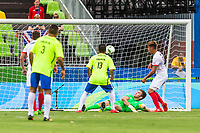 20160908 Copyright onEdition 2016©<br /> Free for editorial use image, please credit: onEdition<br /> <br /> Maycon Ferreira de Almeida of Brazil scores at the Rio Paralympic Games 2016.<br />  <br /> ParalympicsGB is the name for the Great Britain and Northern Ireland Paralympic Team that competes at the summer and winter Paralympic Games. The Team is selected and managed by the British Paralympic Association, in conjunction with the national governing bodies, and is made up of the best sportsmen and women who compete in the 22 summer and 4 winter sports on the Paralympic Programme.<br /> <br /> For additional Images please visit: http://www.w-w-i.com/paralympicsgb_2016/<br /> <br /> For more information please contact the press office via press@paralympics.org.uk or on +44 (0) 7717 587 055<br /> <br /> If you require a higher resolution image or you have any other onEdition photographic enquiries, please contact onEdition on 0845 900 2 900 or email info@onEdition.com<br /> This image is copyright onEdition 2016©.<br /> <br /> This image has been supplied by onEdition and must be credited onEdition. The author is asserting his full Moral rights in relation to the publication of this image. Rights for onward transmission of any image or file is not granted or implied. Changing or deleting Copyright information is illegal as specified in the Copyright, Design and Patents Act 1988. If you are in any way unsure of your right to publish this image please contact onEdition on 0845 900 2 900 or email info@onEdition.com