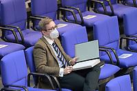DEU, Deutschland, Germany, Berlin, 23.04.2021: Philipp Amthor (CDU) in der Plenarsitzung im Deutschen Bundestag.