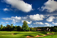 18th green and clubhouse Bowood Hotel, Spa and Golf Resort, Calne, Wiltshire. Picture Credit / Phil Inglis