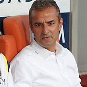 Fenerbahce's coach Ismail Kartal during their Turkish Super League soccer match Istanbul Basaksehir between Fenerbahce at the Basaksehir Fatih Terim Arena at Basaksehir in Istanbul Turkey on Monday, 25 May 2015. Photo by Aykut AKICI/TURKPIX