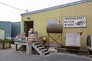 Varuleverans till matbutiken Native Store i Shishmaref. Alaska, USA<br /> <br /> Fotograf: Christina Sjögren<br /> <br /> Photographer: Christina Sjogren<br /> Copyright 2018, All Rights Reserved