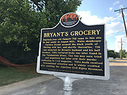 Old Bryant Store in Money Mississippi site of the Emmett Till murder.the old Bryant Store in Money, MS. from 11/27.02.The old Bryant store it has stood the test of time but is in bad shape and decaying. The store is where Emmett Till a young black man from chicago who stopped in the store and whistled or cat called at the oweners blonde and white wife,Emmett was later found lynched and the men who were accused of the crime were found not guilty.The store owners was Roy Bryant it was his wife that was whistled at and Roy owned the store with his half brother J.W.Milam in 1955. Bryant and Milam were indicted for kidnapping and lynching Till but were later acquitted of all charges.(photo/Suzi Altman) Photo ©Suzi Altman