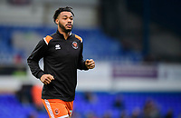 Blackpool's Joe Nuttall during the pre-match warm-up<br /> <br /> Photographer Chris Vaughan/CameraSport<br /> <br /> The EFL Sky Bet League One - Ipswich Town v Blackpool - Saturday 23rd November 2019 - Portman Road - Ipswich<br /> <br /> World Copyright © 2019 CameraSport. All rights reserved. 43 Linden Ave. Countesthorpe. Leicester. England. LE8 5PG - Tel: +44 (0) 116 277 4147 - admin@camerasport.com - www.camerasport.com