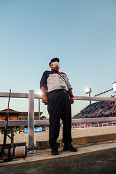 TOKYO - Olympische Spiele / Olympic Games 2021<br /> <br /> Security<br /> Grand Prix de Dressage<br /> <br /> Tokio, Equestrian Park<br /> 25. July 2021<br /> © www.sportfotos-lafrentz.de/Stefan Lafrentz
