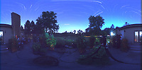 Summertime Night Sky over New Jersey (360 Equirectangular Panorama). Composite of images (20:12-20:59) taken with a Ricoh Theta Z1 camera (ISO 400, dual 2.6 mm fisheye lens, f/2.1, 60 sec). With image alignment in Photoshop CC (scrips,statistics, maximum, align images)