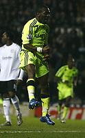 Photo: Steve Bond/Sportsbeat Images.<br />Derby County v Chelsea. The FA Barclays Premiership. 24/11/2007. Shaun Wright-Phillips celebrates his goal