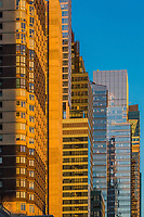 Manhattan Midtown buidings towers architecture details one of the main Landmarks in New York City USA