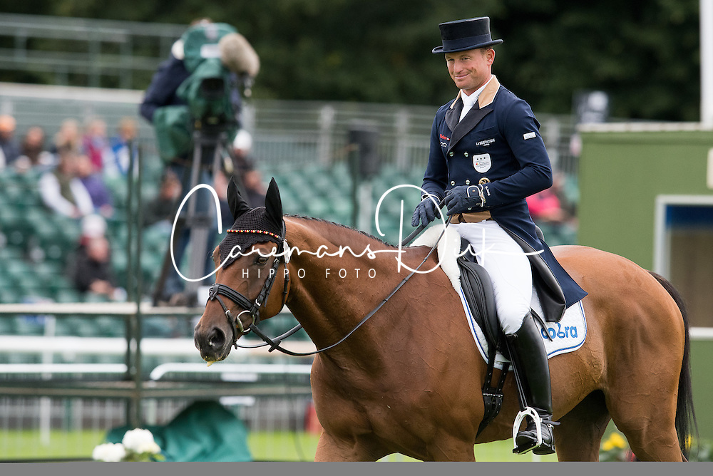 Jung Michael, (GER), La Biosthetique Sam FBW<br /> Land Rover Burghley Horse Trials - Stamford 2015<br /> © Hippo Foto - Jon Stroud<br /> 04/09/15