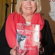 NLD/Amsterdam/20160321 - The Strong Woman Award 2016, Willeke Alberti met haar Strong Woman Award
