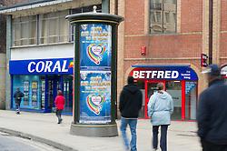 High Street betting shops, Fitzalan Square, Sheffield