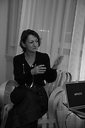 CAROLINE ROUX, GEMS AND LADDERS London Launch & Artist's Talk, 11 Mansfield Street, London. 24 November 2016