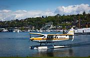 Seaplane on Seattle's Lake Union