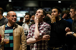 Fans look dejected as England v Iceland is shown on screens in the Sports Bar & Grill at Ashton Gate Stadium during Euro 2016 - Mandatory byline: Rogan Thomson/JMP - 27/06/2016 - Ashton Gate Stadium - Bristol, England - Euro 2016 Fans in England.