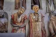 SERIES - UNRELIABLE-SIGHTINGS by PAUL WILLIAMS-  Skeletons of the dead priests  in a massive convent crypt Palermo