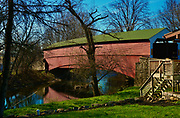 Pleasantville Covered Bridge, Berks Co., PA