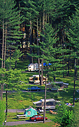 Little Pine Creek State Park campsite, Lycoming County, PA