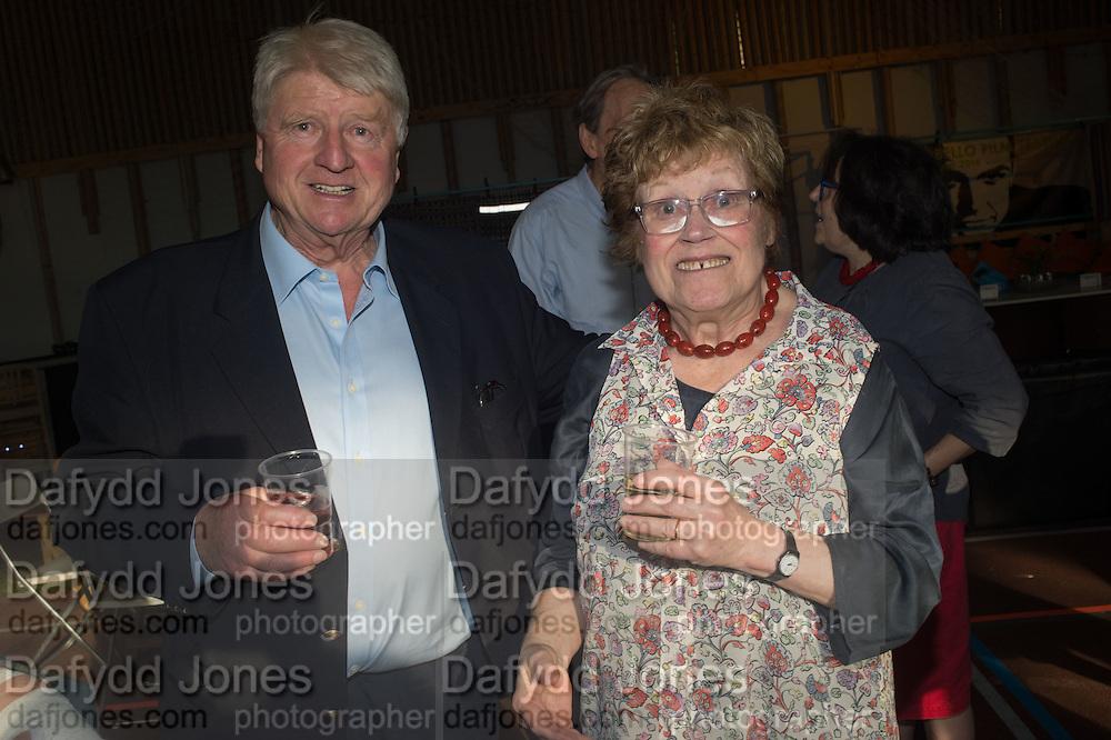 STANLEY JOHNSON; CHARLOTTE JOHNSON WAHL, Rachel Johnson book launch of Fresh Hell, Acklam Village Market, Acklam Rd. London W10.