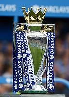 Football - 2014 / 2015 Premier League - Chelsea vs. Sunderland.   <br /> <br /> Barclay's Premier League Trophy at Stamford Bridge. <br /> <br /> COLORSPORT/DANIEL BEARHAM