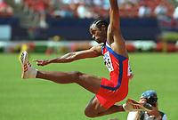 Friidrett. VM 2001 Edmonton. PEDROSO, Ivan      Kuba<br />              Leichtathletik WM 2001   Weitsprung