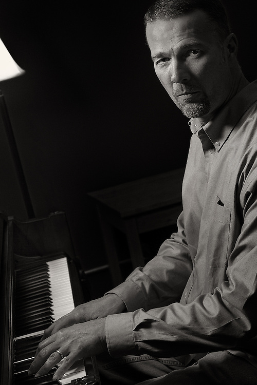 John Bizianes in his teaching/recording studio at Bizianes Music in Louisville,KY