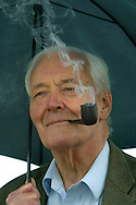 Veteran British left-wing politician, Tony Benn, pictured at the Edinburgh International Book Festival, where he talked about the latest edition of his autobiography entitled 'The Weetabix Years'. The book festival was a part of the Edinburgh International Festival, the largest annual arts festival in the world.