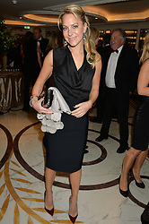 TV presenter EMMA SPENCER at the 24th Cartier Racing Awards held at The Dorchester, Park Lane, London on 11th November 2014.
