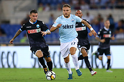 August 20, 2017 - Rome, Italy - Ciro Immobile of Lazio during the Serie A match between SS Lazio and Spal at Olimpico Stadium on August 20, 2017 in Rome, Italy. (Credit Image: © Matteo Ciambelli/NurPhoto via ZUMA Press)