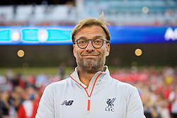 SANTA CLARA, USA - Saturday, July 30, 2016: Liverpool's manager Jürgen Klopp before the International Champions Cup 2016 game against AC Milan on day ten of the club's USA Pre-season Tour at the Levi's Stadium. (Pic by David Rawcliffe/Propaganda)