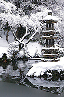 """Kaisekito Pagoda, said to have been donated to the Maeda by Toyotomi Hideyoshi at Kenrokuen - the """"Six Attributes Garden"""" (spaciousness, seclusion, artifice, antiquity, watercourses and panoramas) which is one of the Three Great Gardens of Japan along with Kairakuen and Korakuen."""