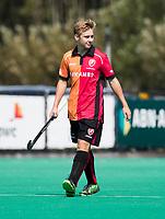 ROTTERDAM -  Max Kuijpers (OR) tijdens de wedstrijd om de derde plaats , Kampong- Oranje Rood , bij de ABN AMRO cup. COPYRIGHT KOEN SUYK