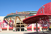 Angel Stadium of Anaheim Front Entrance