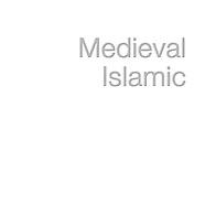 --- MEDIEVAL ISLAMIC ---