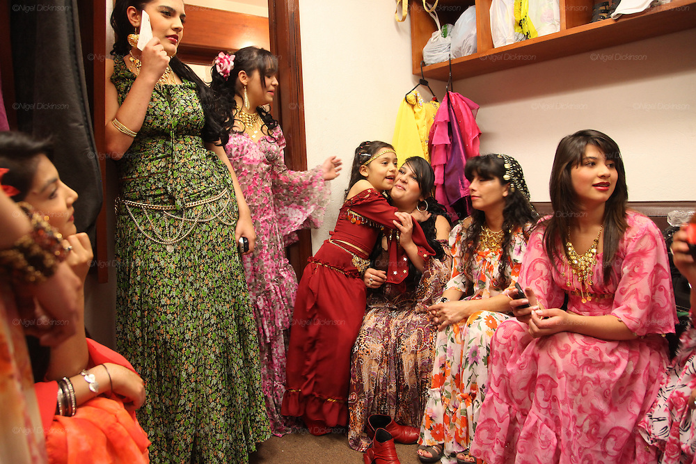 Roma fashion show in local museum. Bogota, Columbia<br /><br />Roma came to the Americas as early as Christopher Columbus's first voyage. Roma were exported and sold as slaves along with negroes from Africa. Europe tried to solve its 'roma problem' by deporting many Roma slaves to the americas. In the 1920s Roma, Chinese and mentally handicapped were not allowed to enter the USA anymore. After that Roma went to South America and the Carribean with a view to traveling north across borders, but many ended up by setting up communities in the southern hemisphere. Nowadays about two million Roma live between North and South America.