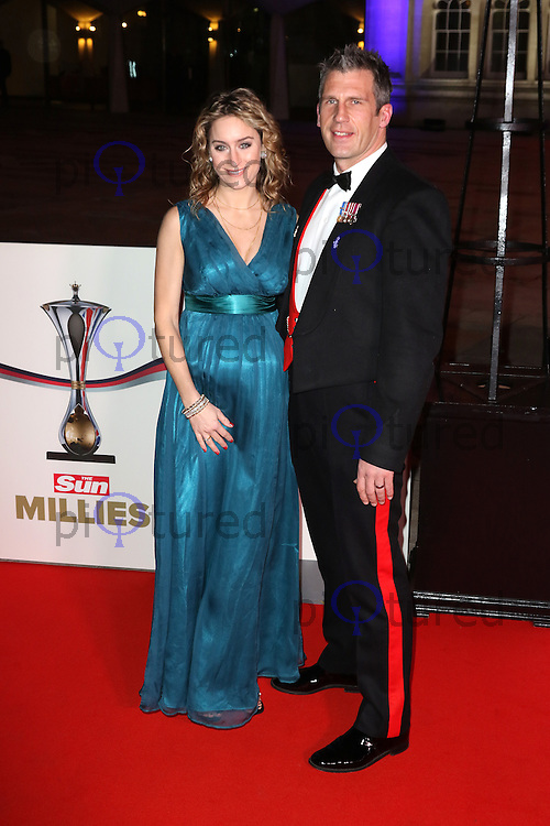 Amy Williams, The Sun Military Awards Millies, Guildhall, London UK, 14 December 2016, Photo by Richard Goldschmidt