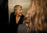 Edie Falco at the 2009 International Emmy Awards Gala hosted by the International Academy of Television Arts & Sciences in New York.  ***EXCLUSIVE***
